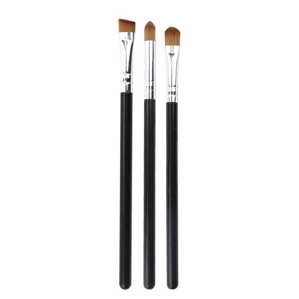 1/3Pcs Make-Up Borstel Oogschaduw Borstels Oogschaduw Blending Wenkbrauw Eyeliner Concealer Lip Brush Make Up Set Cosmetische tool Kit Pro