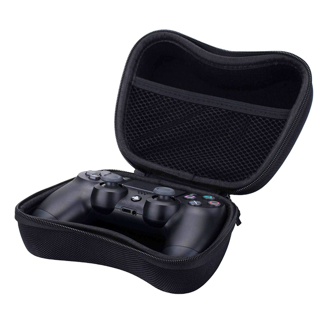 Storage EVA Hard Case Shockproof Hardshell Carrying Case for PS5 DualSense PS4 Controller Portable Travel Storage Bag Pouch