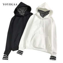 цена на Hoodies Women 2020  Fashion Sweatshirts Long Sleeve Hoodies Print Letter Sportswear Women's Hooded Hoodies Casual Pullover