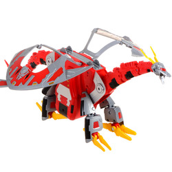 Transformação novo design besta guerras céu lynx megatron figura brinquedo
