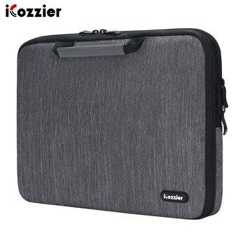 ICozzier 11.6/13./15.6/17.3 pouces poignée accessoires électroniques sangle pochette pour ordinateur portable étui sac de protection pour 15.6 ordinateur portable
