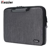 Icozzier 11.6/13./15.6/17.3 polegada alça acessórios eletrônicos alça luva do portátil caso saco de proteção para 15.6 notebook