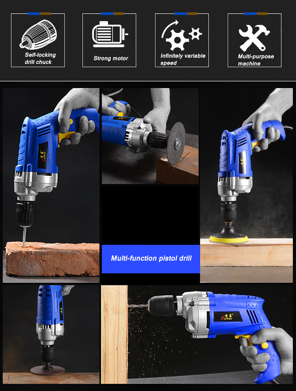 Electric drill 6