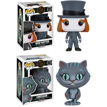 Figure-Toys Alice Doll-Action Mad Hatter Chessur Funko-Pop In Wonderland Christmas-Gift
