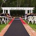 Черные бегуны для прохода  свадебные аксессуары  черный ковер для прохода  пошаговый показ  церемония  вечеринки и мероприятия в помещении