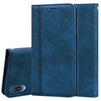 Funda de cuero con tapa para Samsung Galaxy A02, carcasa de SM-A022F para libro