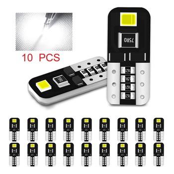 10 sztuk samochodów T10 LED Canbus W5W żarówki 2835 2SMD 194 168 samochodów światło obrysowe oświetlenie wnętrza do czytania sygnał samochodowy lampa bez ERROE tanie i dobre opinie CN (pochodzenie) Światła obrysowe 12 v WHITE T10 W5W Led Origin CN(Origin) Parking Lights Super bright LED w5w Light