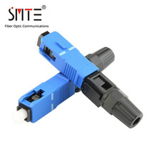 100pcs/lot SC UPC Cold connector NPFG 60mm 0.3 dB SC-UPC fast connector Fiber optical connector