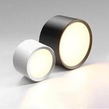 Светодиодный точечный светильник поверхностного монтажа 220В
