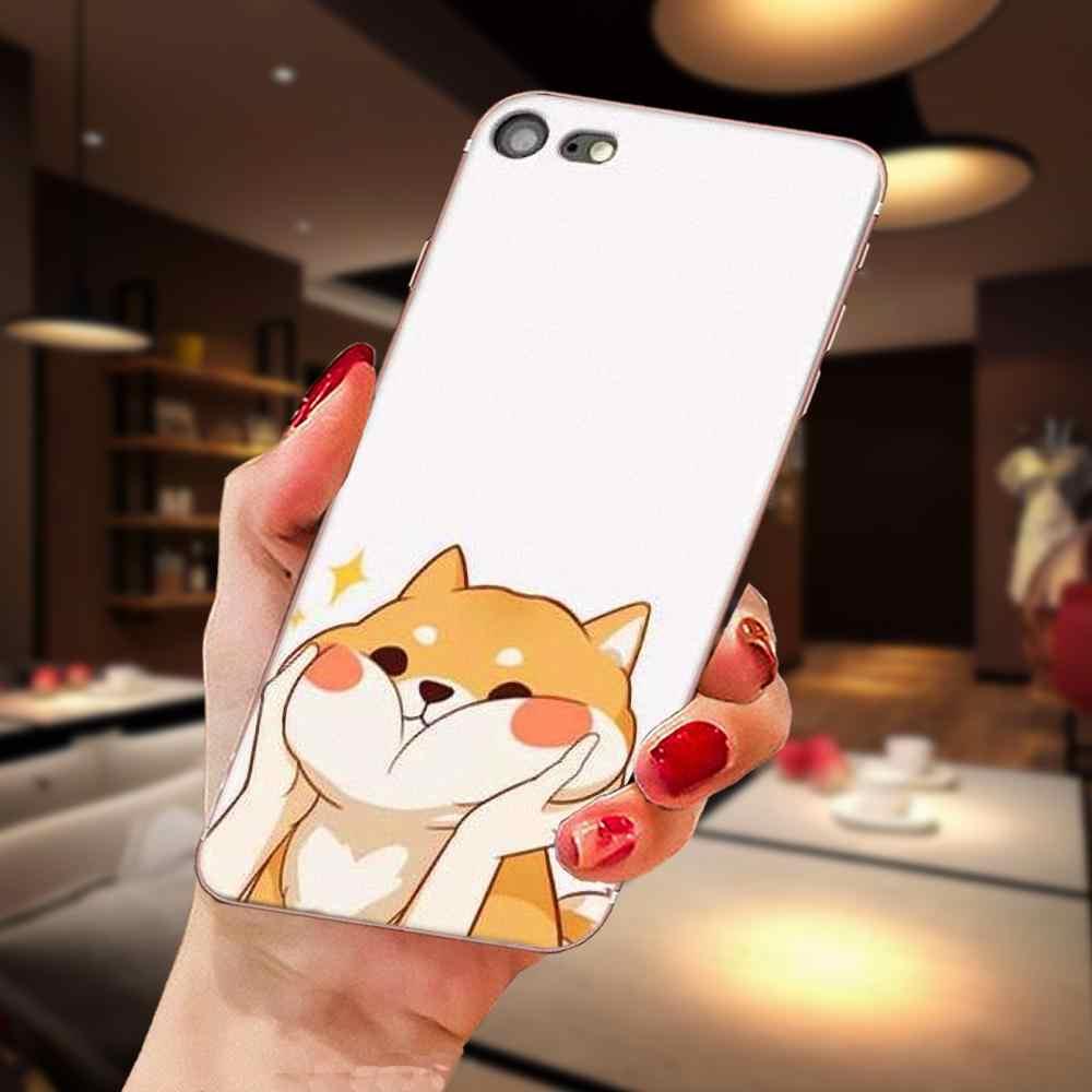 Per Huawei Honor Compagno di Nova Nota 20 20s 30 5 5I 5T 7C 8A 8X9X10 Pro Lite Gioco TPU Mobile Del Sacchetto del fumetto Corgi cane Shiba Inu