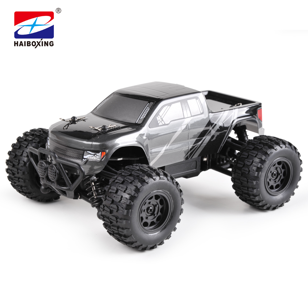 HBX RC Car 2138 4WD 2.4Ghz Radio Cont 1:24 Scale High Speed Remote Control Car 4 Wheel Steering Off-road truck model stickers