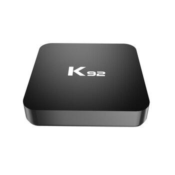 AAAE Top-K92 S905X2 Android 8.1 Smart TV Box 4GB RAM 32GB ROM 2.4G/5G WiFi Bluetooth 4.1 Set Top Box EU Plug