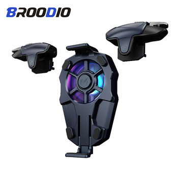 Broodio Gamepad Joystick For PUBG Joypad Trigger Fire Button Aim L1 R1 Key Shooter Controller For PUBG Mobile Phone Game Pad