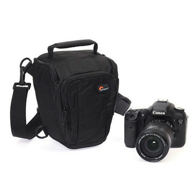 Image 3 - Быстрая доставка Lowepro Toploader Zoom 50 AW Высококачественная цифровая зеркальная камера сумка на плечо с водонепроницаемым чехлом-in Сумки для фото-/видеокамеры from Бытовая электроника