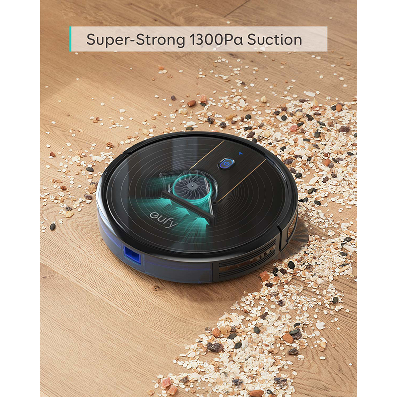 eufy [BoostIQ] RoboVac 15C, Wi-Fi, Super-Thin, 1300Pa Strong Suction Quiet, Self-Charging Robotic Vacuum Cleaner 6