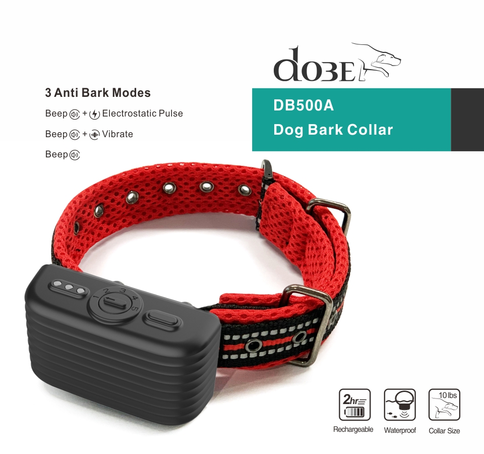 1st Dog bark collar DB500A