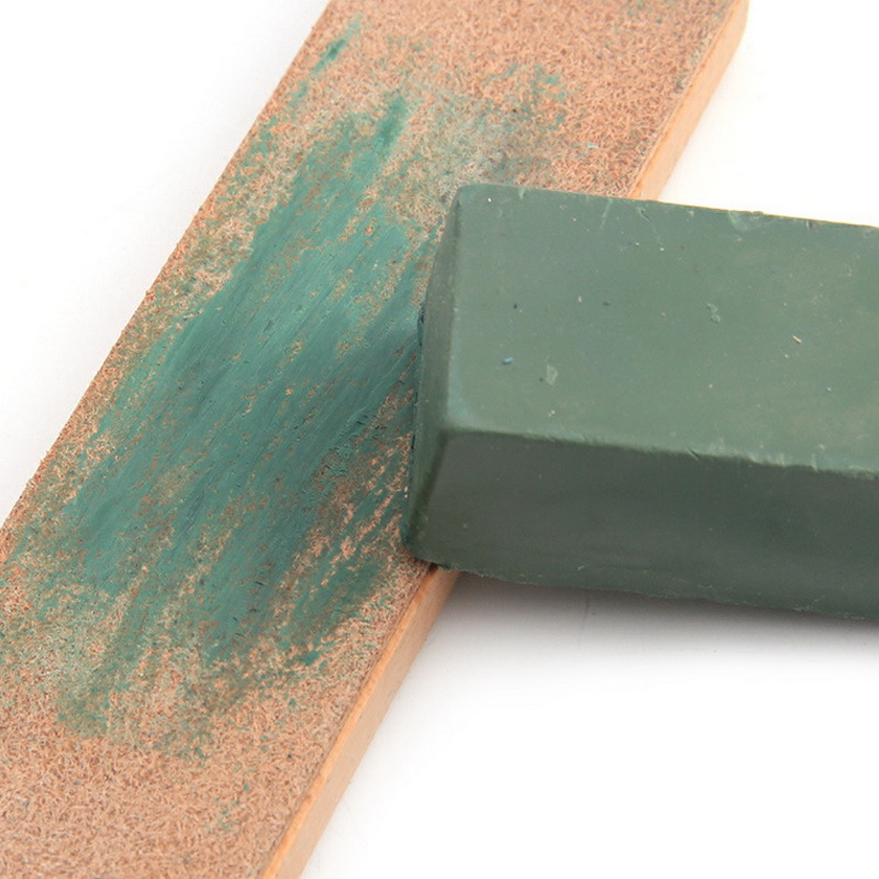 5pc Green Polishing Paste Alumina Fine Abrasive Green Buff Polishing Compound Metal Jewelry Polishing Compound Abrasive Paste