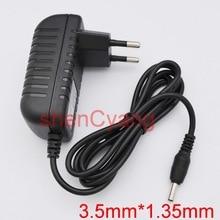 Wysokiej jakości AC/adapter DC 5V 6V 9V 12V 13.5V 18V 19V 500mA 1A 1.5A 2A 2.5A zasilacz ue wtyczka DC 3.5mm x 1.35mm