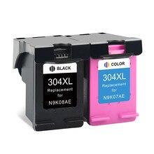 ALIZEO Para HP 304 Substituição Do Cartucho De Tinta Para Deskjet HP304 XL 3720 3730 3732 3733 3735 3750 3755 3760 3762 Printer
