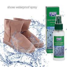 100 мл защита от пятен водонепроницаемый спрей гидрофобное покрытие для обуви, нетоксичный, невоспламеняющийся, экологически чистый