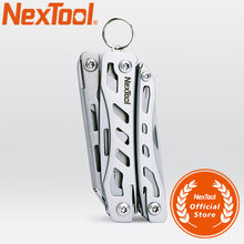 NE0138 NexTool Mini Flagship-10 IN 1 Multi Funktionales Werkzeug Klapp EDC Hand Werkzeug Schraubendreher Zangen Flasche Opener für Outdoor