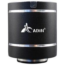 Vibration Speaker Bluetooth Adin Column Bass Fm-Radio Portable 20W Remote-Control