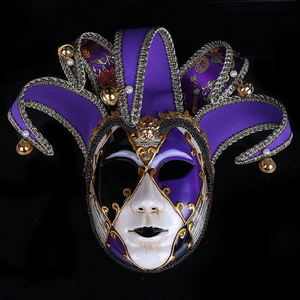 Image 2 - Strongwell Party Mask Venice Masks Party Supplies Masquerade Mask Christmas Halloween Venetian Costumes Carnival Anonymous Masks