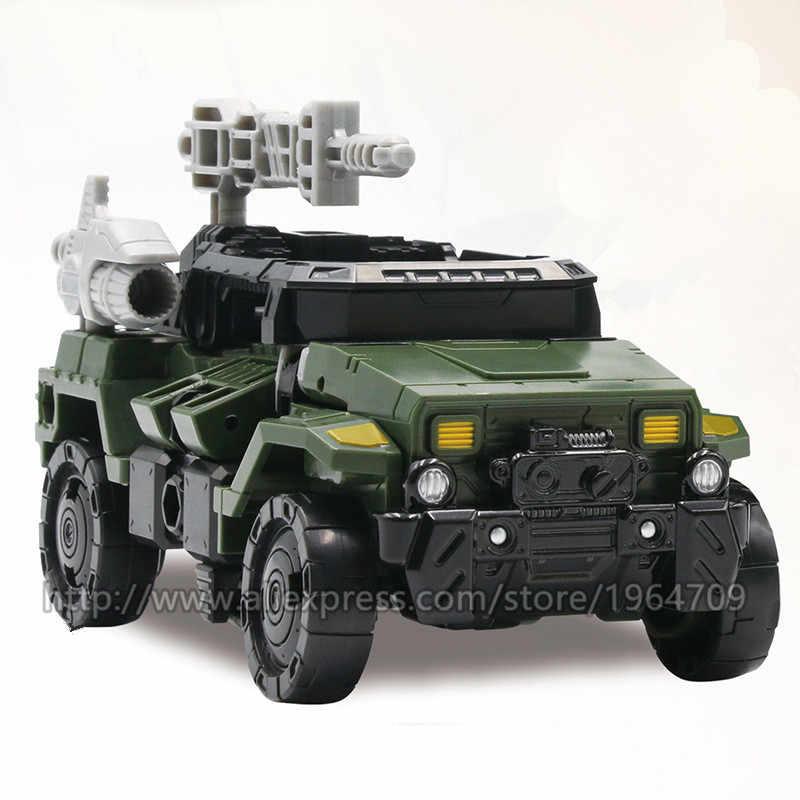 AOYI BMB חדש 18cm שינוי צעצועי ילד סגסוגת מהדורת אנימה KO פעולה איור רכב טנק דגם ילדים צעצוע מתנה h6002-9 H6001-4 SS38