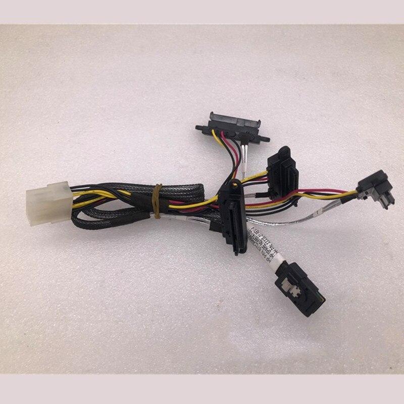 ML310E GEN8 disque dur cage fond de panier ligne miniSAS à 4SAS 686747-001 8 broches câble