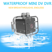 цена на Waterproof Mini Camera SQ12 HD Sport Action Camera Night Vision Camcorder 1080P DV Video Recorder Infrared Car DVR Camera Motion