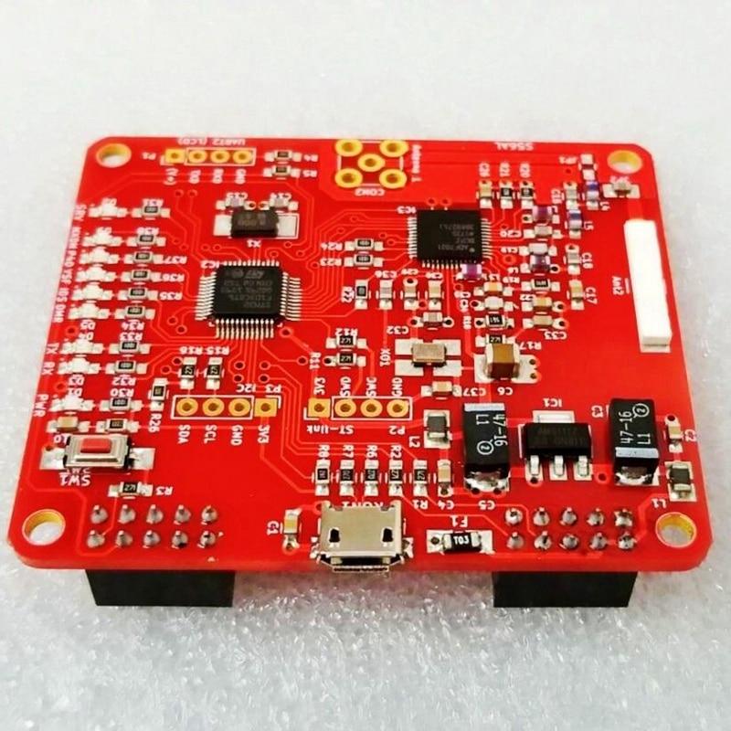 raspberry pi V2.0 Mmdvm Hotspot Module P25 Dmr Ysf Nxdn + Raspberry Pi 3B + 16G Sd + Case (4)