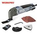 WORKPRO 300 Вт многофункциональные электроинструменты Осциллирующие инструменты ЕС вилка для дома DIY Инструменты для ремонта дома