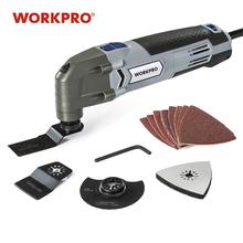 WORKPRO 300W mocy wielofunkcyjny narzędzia narzędzia oscylacyjne ue podłącz główna narzędzia diy remont domu narzędzia tanie tanio 50HZ W123005A 10000-23000RPM Domu DIY