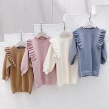 Kids Girls Ruffles Sweatshirt Clothing