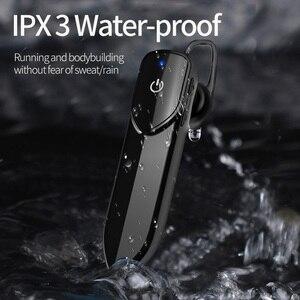 Image 1 - KEBIDU V19 Bluetooth Drahtlose Kopfhörer Mit Mic Freihändiger Kopfhörer Kopfhörer Sport Wasserdichte Drahtlose Bluetooth 4,2 Kopfhörer
