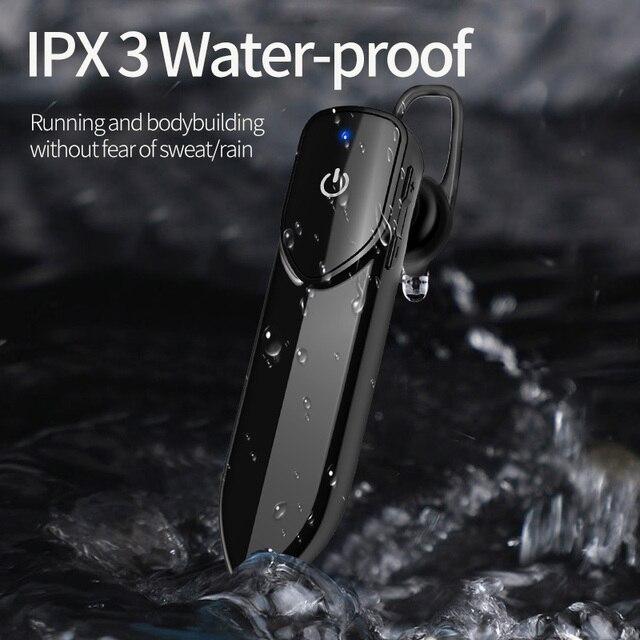 KEBIDU V19 Bluetooth Drahtlose Kopfhörer Mit Mic Freihändiger Kopfhörer Kopfhörer Sport Wasserdichte Drahtlose Bluetooth 4,2 Kopfhörer
