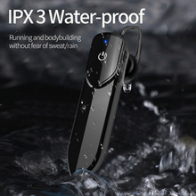 KEBIDU V19 Bluetooth אלחוטי אוזניות עם מיקרופון דיבורית אוזניות אוזניות ספורט עמיד למים אלחוטי Bluetooth 4.2 אוזניות