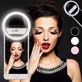 Новое кольцо для селфи мобильный телефон объектив с креплением светильник Litwod светодиодные лампы Аварийного Сухой Батарея для фото Камера ...