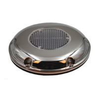 Solar Powered No noise Vent Roof Fan Easy Install Ventilators Home For Boat RV Air Extractor Portable Stainless Steel Automatic