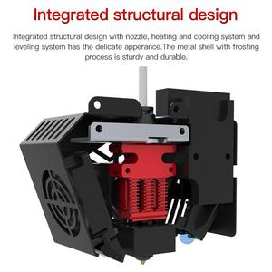 Image 3 - Original CRELITY 3D CR 6 SE Printer Assembled Full Extruded Hotend Kit For CR 6 SE Printer