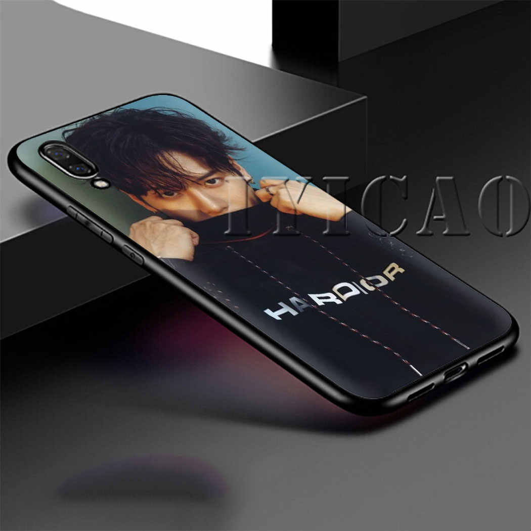 Jackson Wang Hard Soft Silicon telefoon Case voor Huawei P8 P9 Lite Mini 2015 2017 P10 P20 P30 Lite Pro cover