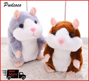 Cheeky Hamster Talking Pet Soft Toy Cute Sound 2019 Christmas Kid Gift High Quality(China)