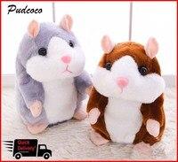 Cheeky Hamster Talking Pet Soft Toy Leuke Geluid 2019 Kerst Kid Gift Hoge Kwaliteit