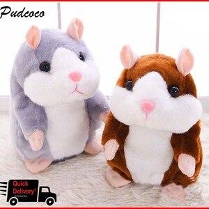 Cheeky Hamster Talking Pet Sof