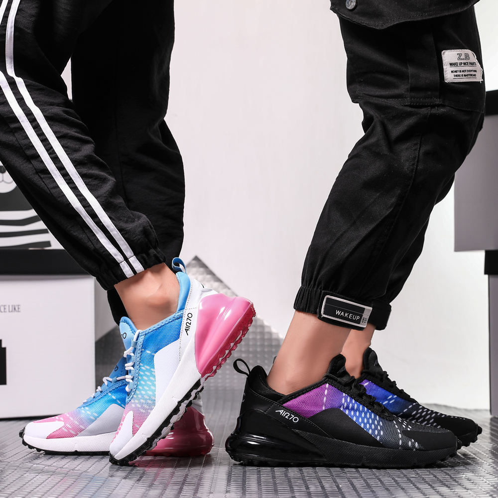 Running Shoes Men Women Unisex Sports Sneakers 2019 New Colors Arrival Athletic Brand 270 Adult High Quality Zapatillas Hombre