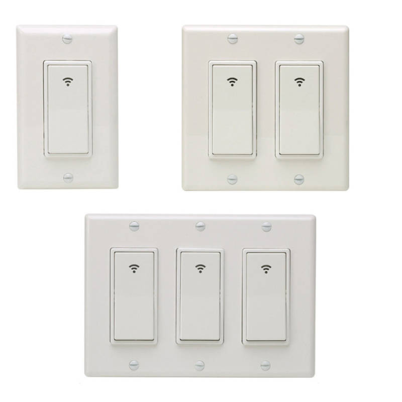 Self-powered Kinetic Wireless Switch Wall Switch Without Battery, Remote Control Lighting Up To 30 M, Without Wire