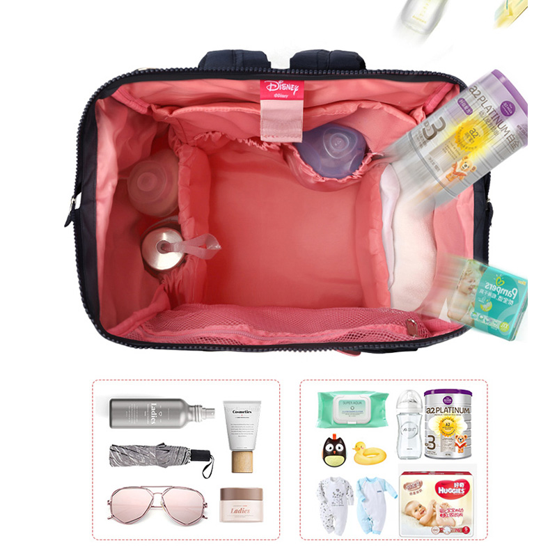 Disney  diaper backpack  mummy insulation Bags  diaper bag Thermal High-capacity Baby Feeding Bottle Bags Backpack Baby bags