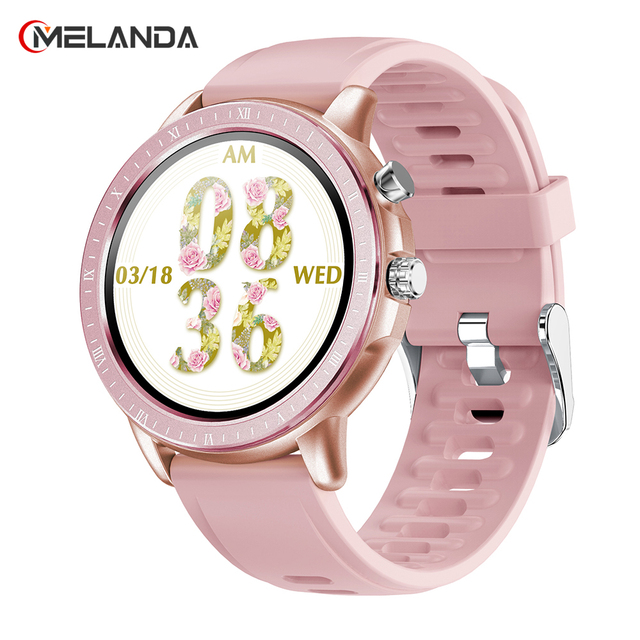 MELANDA 2020 New Smart Watch Women Men Sport 1.3 1