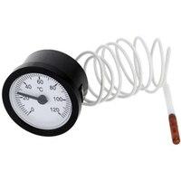 0-120 °C Zifferblatt Thermometer Kapillare Temperatur Test Für Flüssigkeit Gas Temp Öl Thermometer Flüssigkeit Thermometer