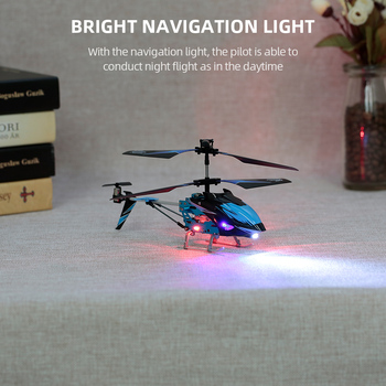 Wltoys XK S929-A RC Helicopter 2.4G 3.5CH with Led Light RC Helicopter Indoor Toys for Beginner Kids Children Blue Red Green 5